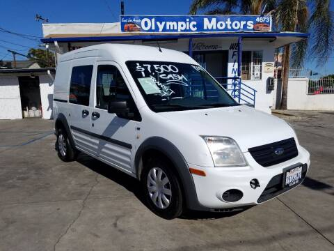 2013 Ford Transit Connect for sale at Olympic Motors in Los Angeles CA