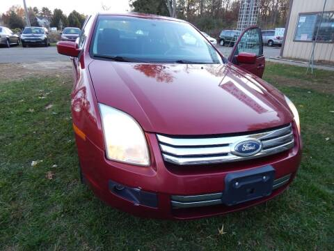 2007 Ford Fusion for sale at PARAGON AUTO SALES in Portage MI