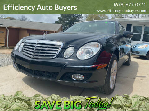 2007 Mercedes-Benz E-Class for sale at Efficiency Auto Buyers in Milton GA
