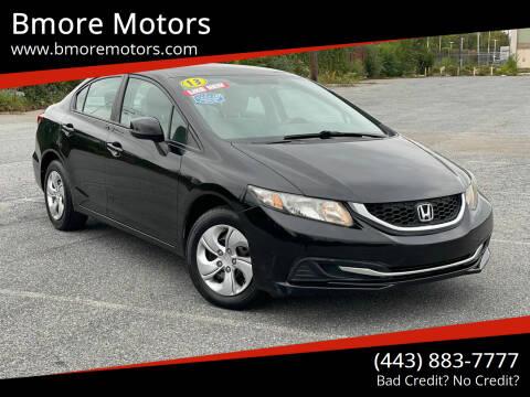 2013 Honda Civic for sale at Bmore Motors in Baltimore MD