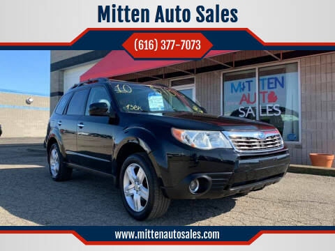 2010 Subaru Forester for sale at Mitten Auto Sales in Holland MI
