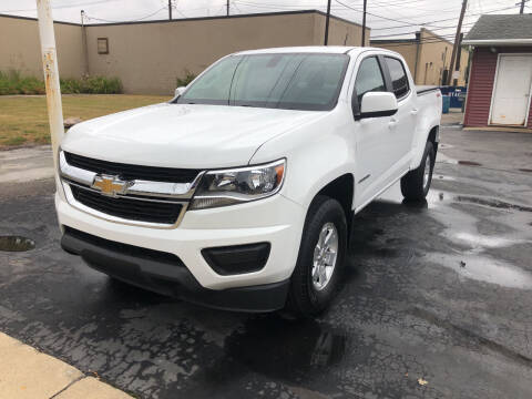 2019 Chevrolet Colorado for sale at N & J Auto Sales in Warsaw IN