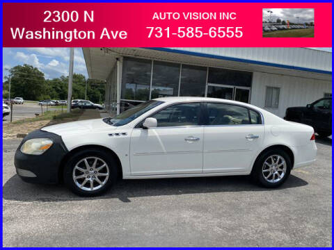 2007 Buick Lucerne for sale at Auto Vision Inc. in Brownsville TN