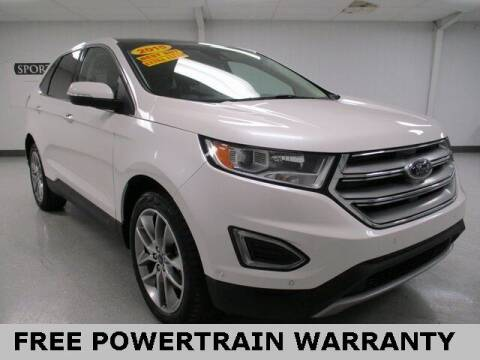 2015 Ford Edge for sale at Sports & Luxury Auto in Blue Springs MO