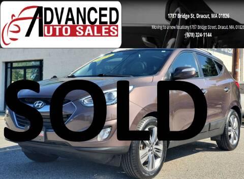 2014 Hyundai Tucson for sale at Advanced Auto Sales in Dracut MA