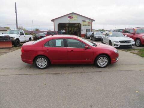 2012 Ford Fusion Hybrid for sale at Jefferson St Motors in Waterloo IA