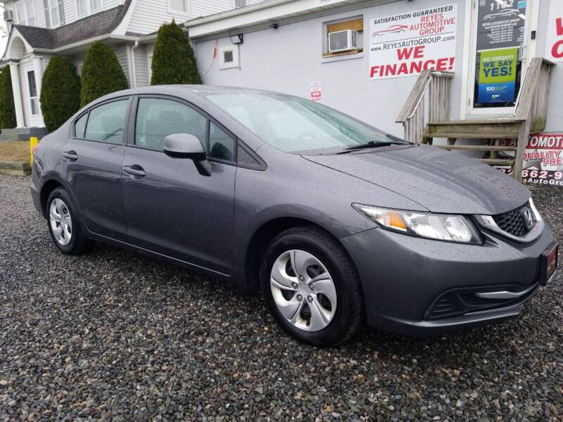 2013 Honda Civic for sale at Reyes Automotive Group in Lakewood NJ