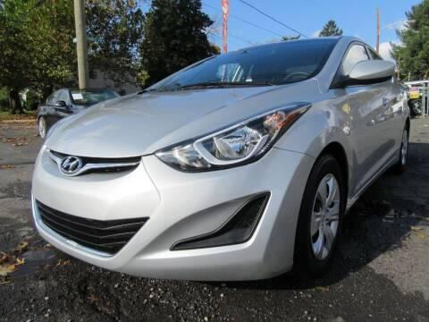 2016 Hyundai Elantra for sale at PRESTIGE IMPORT AUTO SALES in Morrisville PA