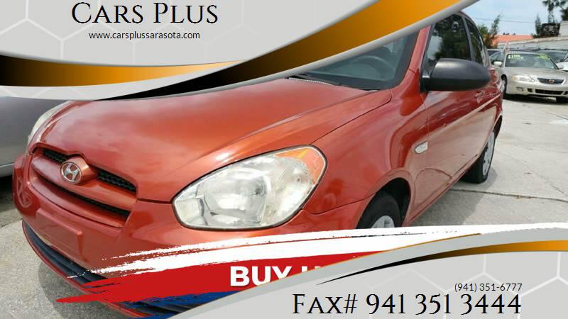 2007 Hyundai Accent for sale at Cars Plus in Sarasota FL