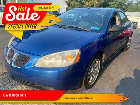 2005 Pontiac G6 for sale at A & R Used Cars in Clayton NJ