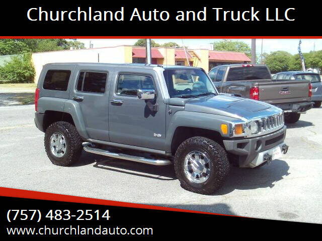 2008 HUMMER H3 for sale at Churchland Auto and Truck LLC in Portsmouth VA