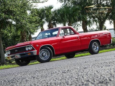 1966 Chevrolet El Camino for sale at SURVIVOR CLASSIC CAR SERVICES in Palmetto FL
