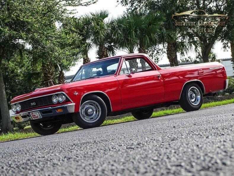1966 Chevrolet El Camino for sale at SURVIVOR CLASSIC CAR SERVICES in Palmetto FL