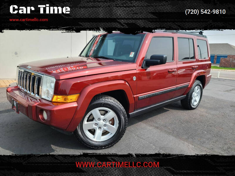 2008 Jeep Commander for sale at Car Time in Denver CO