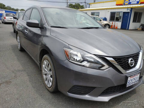 2018 Nissan Sentra for sale at Guy Strohmeiers Auto Center in Lakeport CA