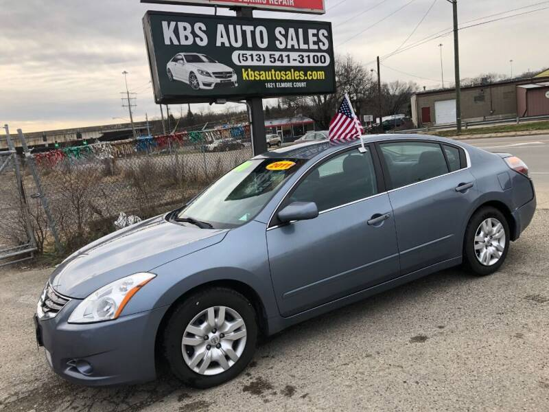 2011 Nissan Altima for sale at KBS Auto Sales in Cincinnati OH