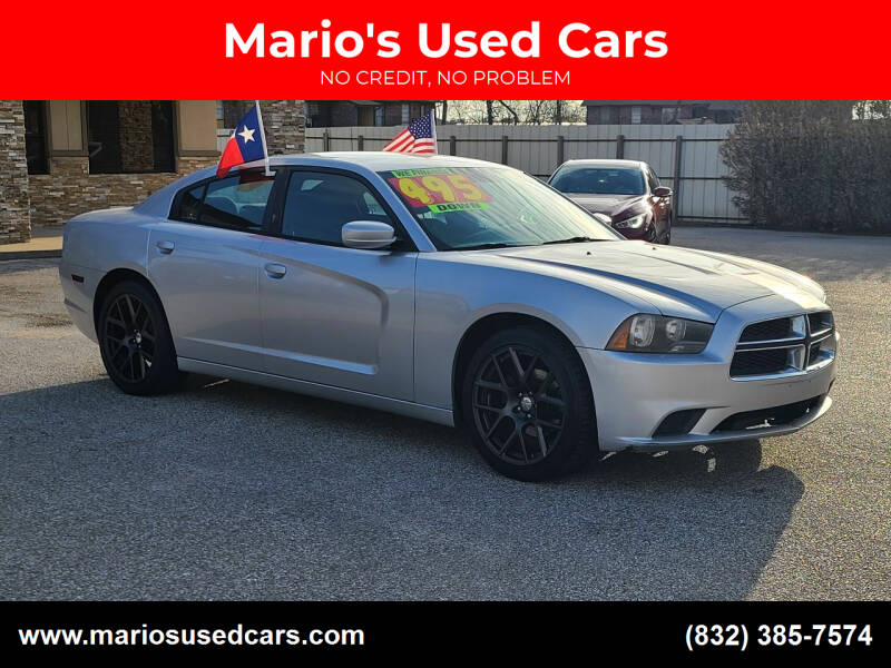 2012 Dodge Charger for sale at Mario's Used Cars - Pasadena Location in Pasadena TX