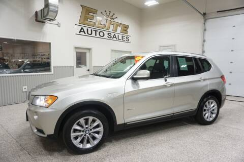 2013 BMW X3 for sale at Elite Auto Sales in Ammon ID