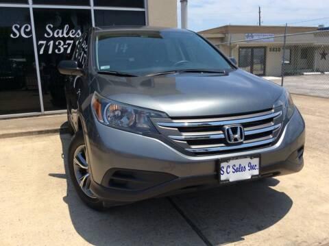2014 Honda CR-V for sale at SC SALES INC in Houston TX
