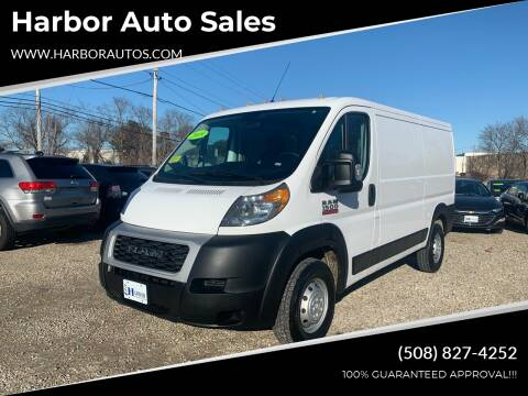 2019 RAM ProMaster Cargo for sale at Harbor Auto Sales in Hyannis MA