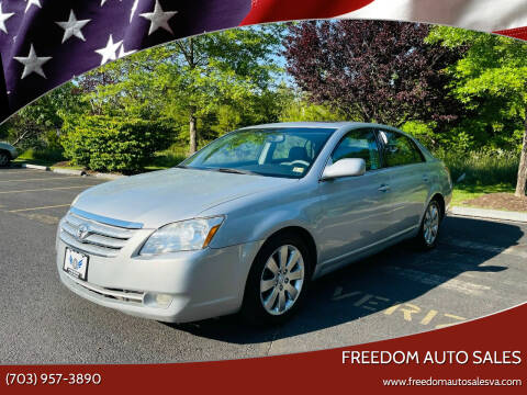 2006 Toyota Avalon for sale at Freedom Auto Sales in Chantilly VA