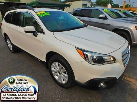 2017 Subaru Outback for sale at Jon's Auto in Marquette MI