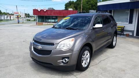 2012 Chevrolet Equinox for sale at West Elm Motors in Graham NC