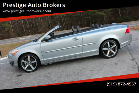 2011 Volvo C70 for sale at Prestige Auto Brokers in Raleigh NC