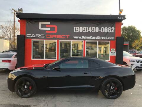 2012 Chevrolet Camaro for sale at Cars Direct in Ontario CA