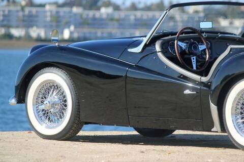 1961 Triumph TR3 for sale at Precious Metals in San Diego CA