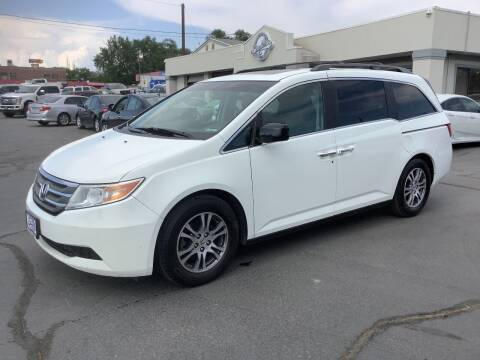 2011 Honda Odyssey for sale at Beutler Auto Sales in Clearfield UT