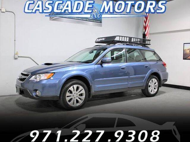 2008 Subaru Outback for sale at Cascade Motors in Portland OR