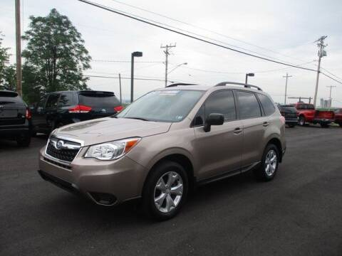 2016 Subaru Forester for sale at FINAL DRIVE AUTO SALES INC in Shippensburg PA