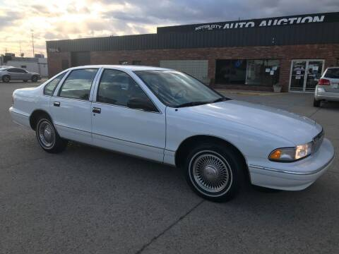 1995 Chevrolet Caprice for sale at Motor City Auto Auction in Fraser MI
