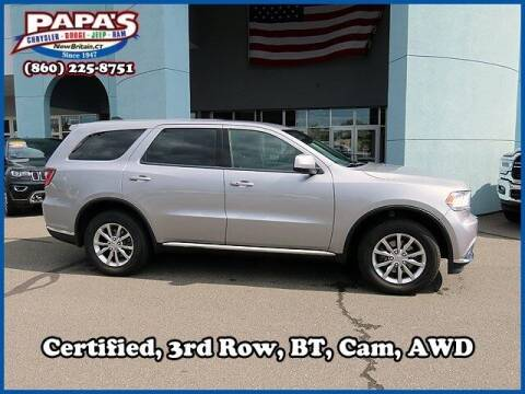 2018 Dodge Durango for sale at Papas Chrysler Dodge Jeep Ram in New Britain CT