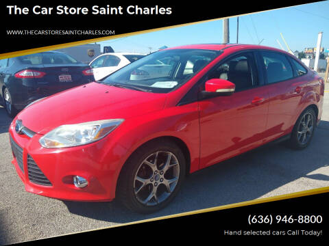 2013 Ford Focus for sale at The Car Store Saint Charles in Saint Charles MO