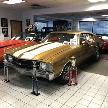 1971 Chevrolet Chevelle for sale at Black Tie Classics in Stratford NJ
