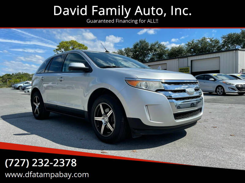 2012 Ford Edge for sale at David Family Auto, Inc. in New Port Richey FL