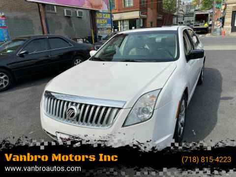 2010 Mercury Milan for sale at Vanbro Motors Inc in Staten Island NY