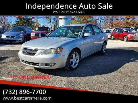 2006 Hyundai Sonata for sale at Independence Auto Sale in Bordentown NJ