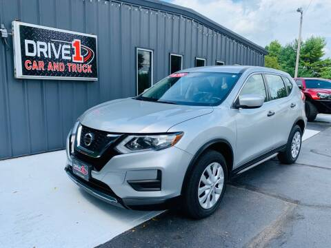 2017 Nissan Rogue for sale at Drive 1 Car & Truck in Springfield OH
