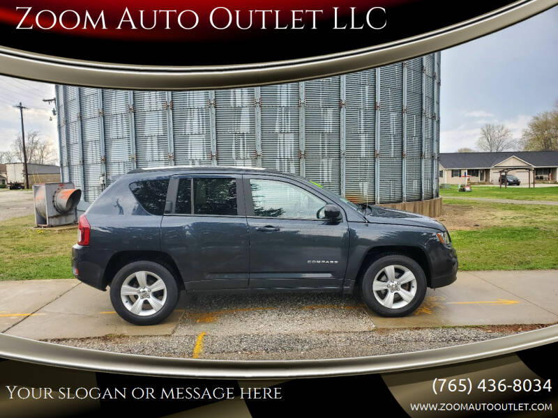 2014 Jeep Compass for sale at Zoom Auto Outlet LLC in Thorntown IN