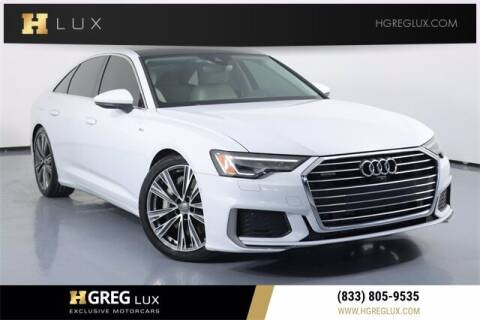 2019 Audi A6 for sale at HGREG LUX EXCLUSIVE MOTORCARS in Pompano Beach FL