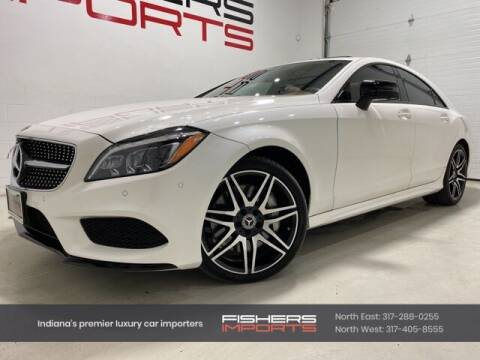 2017 Mercedes-Benz CLS for sale at Fishers Imports in Fishers IN