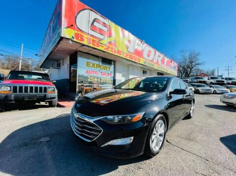 2020 Chevrolet Malibu for sale at EXPORT AUTO SALES, INC. in Nashville TN