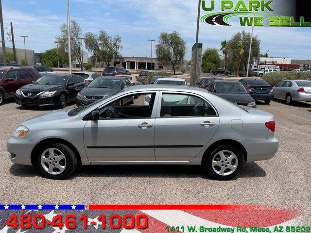 2008 Toyota Corolla for sale at UPARK WE SELL AZ in Mesa AZ
