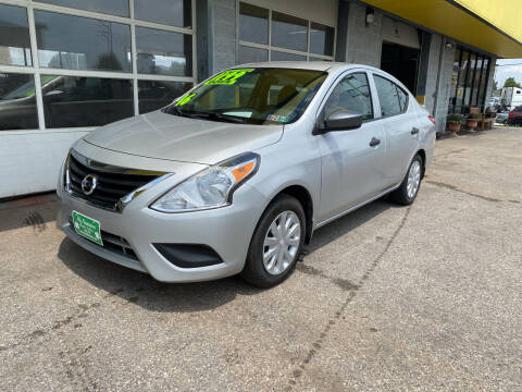 2016 Nissan Versa for sale at McNamara Auto Sales - Kenneth Road Lot in York PA