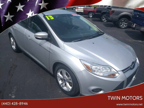2013 Ford Focus for sale at TWIN MOTORS in Madison OH