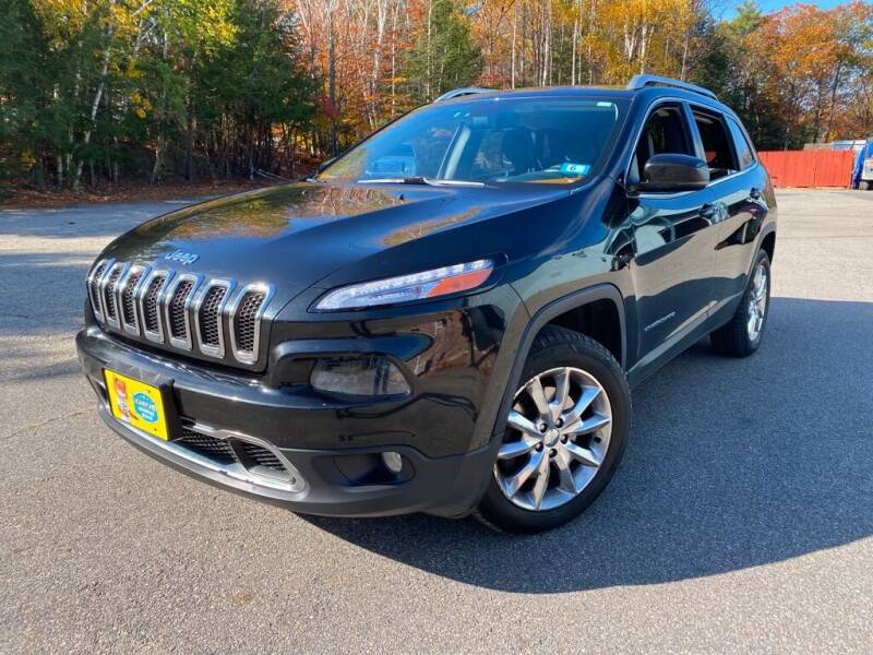2014 Jeep Cherokee for sale at Granite Auto Sales in Spofford NH