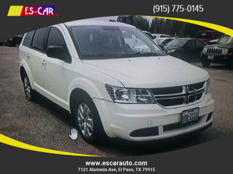 2015 Dodge Journey for sale at Escar Auto in El Paso TX